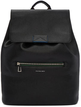 Paul Smith Black Leather Rucksack