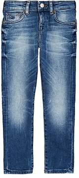 Scotch Shrunk Strummer Faded Stretch-Denim Jeans