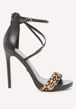 Bebe Layla Calf Hair Sandals