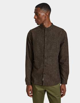 NATIVE YOUTH Alford Shirt in Brown