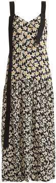 Joseph Celeste floral-print silk dress