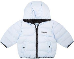 Givenchy Logo Trim Hooded Jacket