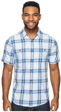Royal Robbins Point Reyes Plaid Short Sleeve Shirt Men's Short Sleeve Button Up