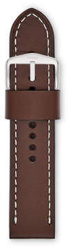 Fossil 24mm Brown Leather Watch Strap