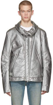 Helmut Lang Silver Re-Edition Astro Moto Jacket