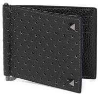 Valentino Studded Leather Wallet