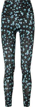 Emilia Wickstead Bodyism Sienna Floral-print Stretch Leggings - Blue