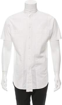 Alexandre Plokhov Short Sleeve Mandarin Collar Shirt w/ Tags