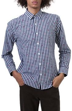 7 Diamonds Men's Petrichor Woven Shirt