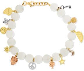 Carolina Bucci Recharmed Lucky 18-karat Gold Agate Bracelet
