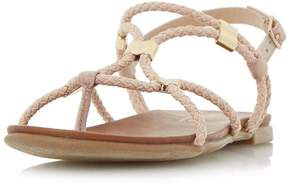 Head Over Heels *Head Over Heels by Dune Blush 'Layley' Flat Sandals