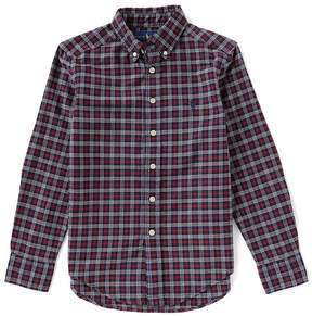Ralph Lauren Big Boys 8-20 Plaid Lightweight Oxford Shirt
