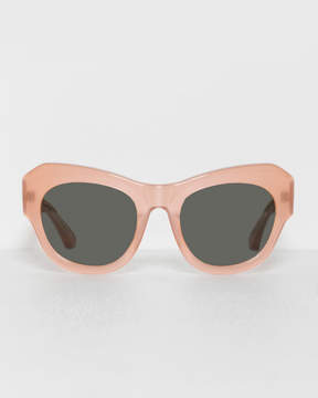 Dries Van Noten Peach Curve Sunglasses