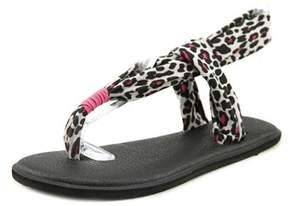 Sanuk Yoga Sling Open-toe Canvas Slingback Sandal.