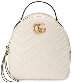 Gucci GG Marmont quilted leather backpack - WHITE - STYLE
