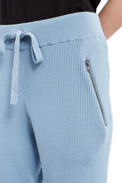 Baja East Stretch Cotton Ribbed Pants
