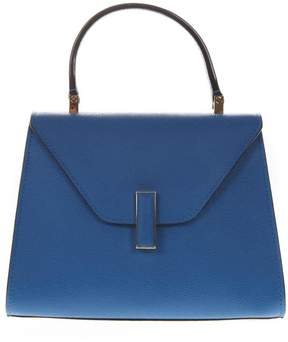 Valextra Iside Blue Leather Handbag