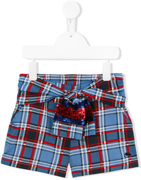 Little Marc Jacobs checked shorts