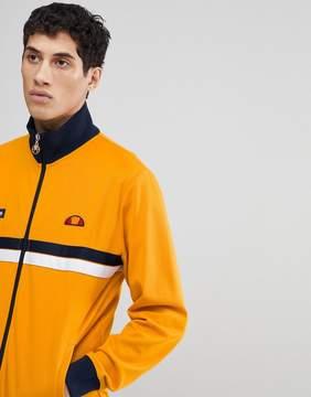 Ellesse Jacket With Funnel Neck In Orange