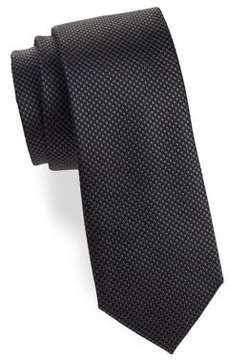MICHAEL Michael Kors Satin Textured Silk Tie