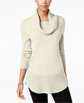 Charter Club Cowl-Neck Sweater, Created for Macy's