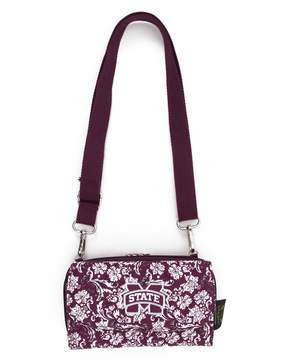 NCAA Mississippi State Bulldogs Bloom Crossbody Wallet