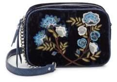 Sam Edelman Perri Velvet Shoulder Bag