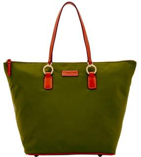 Dooney & Bourke Nylon O Ring Shopper Tote - OLIVE - STYLE
