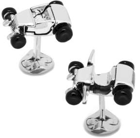 Co Ox and Bull Trading Hot Rod Car Cufflinks.
