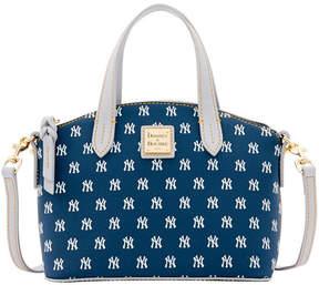 Dooney & Bourke New York Yankees Ruby Mini Crossbody Satchel - NAVY/GRAY - STYLE