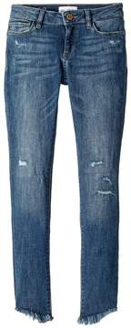 DL1961 Kids Chloe Distressed Skinny in Avalon Girl's Casual Pants