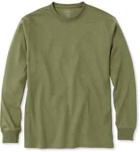 L.L. Bean L.L.Bean Pima Cotton T-Shirt, Traditional Fit Long-Sleeve