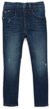 DL1961 Premium Denim Little Girl's Chloe Skinny Dark Jeans