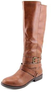 Style&Co. Style & Co Lolah Women Round Toe Synthetic Brown Knee High Boot.