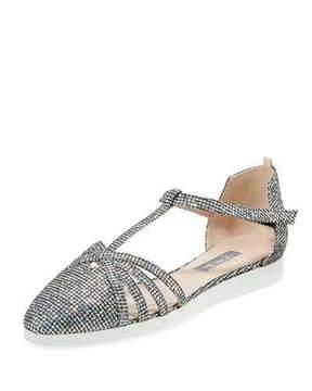 Sarah Jessica Parker Meteor Carrie Iridescent Sneaker Sandal
