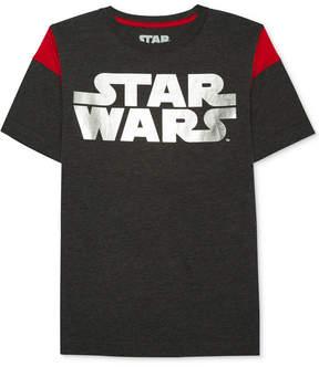 Star Wars Logo-Print Shirt, Big Boys (8-20)