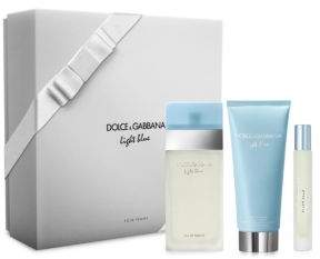 Dolce & Gabbana Light Blue Eau de Toilette Holiday Trio Gift Set