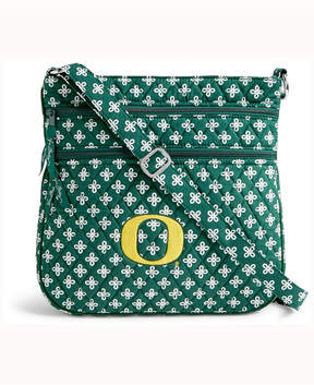 Vera Bradley Oregon Ducks Triple Zip Hipster - GREEN - STYLE