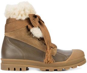 Chloé Parker shearling boots
