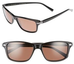 Ted Baker Men's 55Mm Polarized Sunglasses - Black