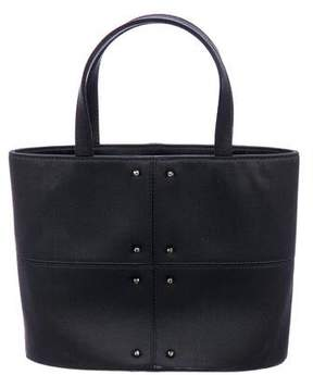 Tod's Satin Mini Handle Tote