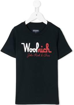 Woolrich Kids printed T-shirt