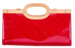 Louis Vuitton Vernis Roxbury Drive Bag - RED - STYLE