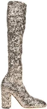 Dolce & Gabbana High Sequin Boot