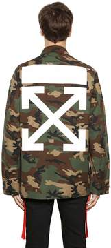 Off-White Camo Arrows Printed & Patch Field Jacket