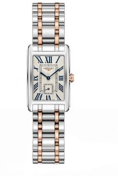 Longines Rectangular Stainless Steel Bracelet Watch