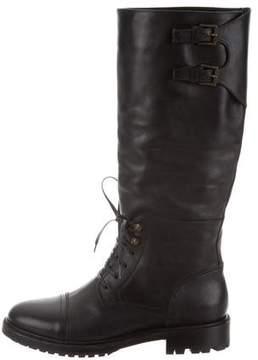 Belstaff Mid-Calf Combat Boots w/ Tags