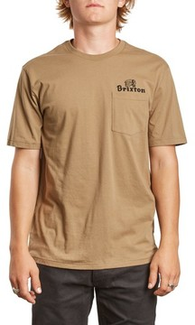 Brixton Men's Tanka Ii Pocket T-Shirt