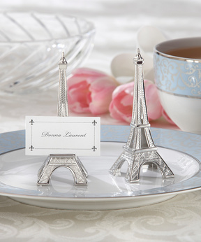 Eiffel Towel Card Holder - Set of 12