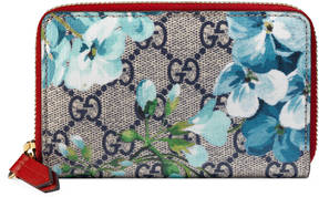 Gucci GG Blooms card case - BLUE BLOOMS - STYLE